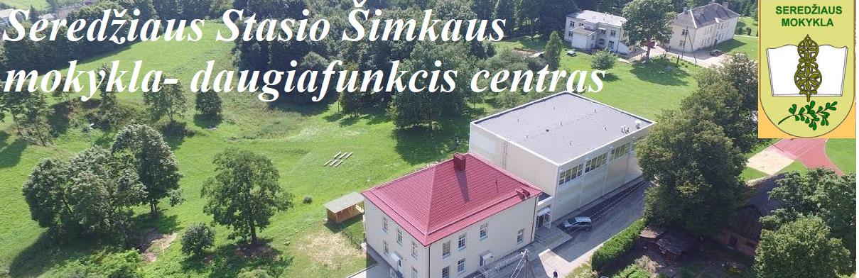 Logo for SEREDŽIAUS STASIO ŠIMKAUS MOKYKLA-DAUGIAFUNKCIS CENTRAS